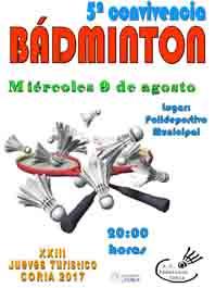 5ª CONVIVENCIA DE BÁDMINTON