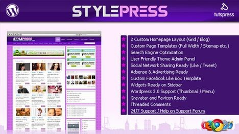 StylePress WordPress Theme