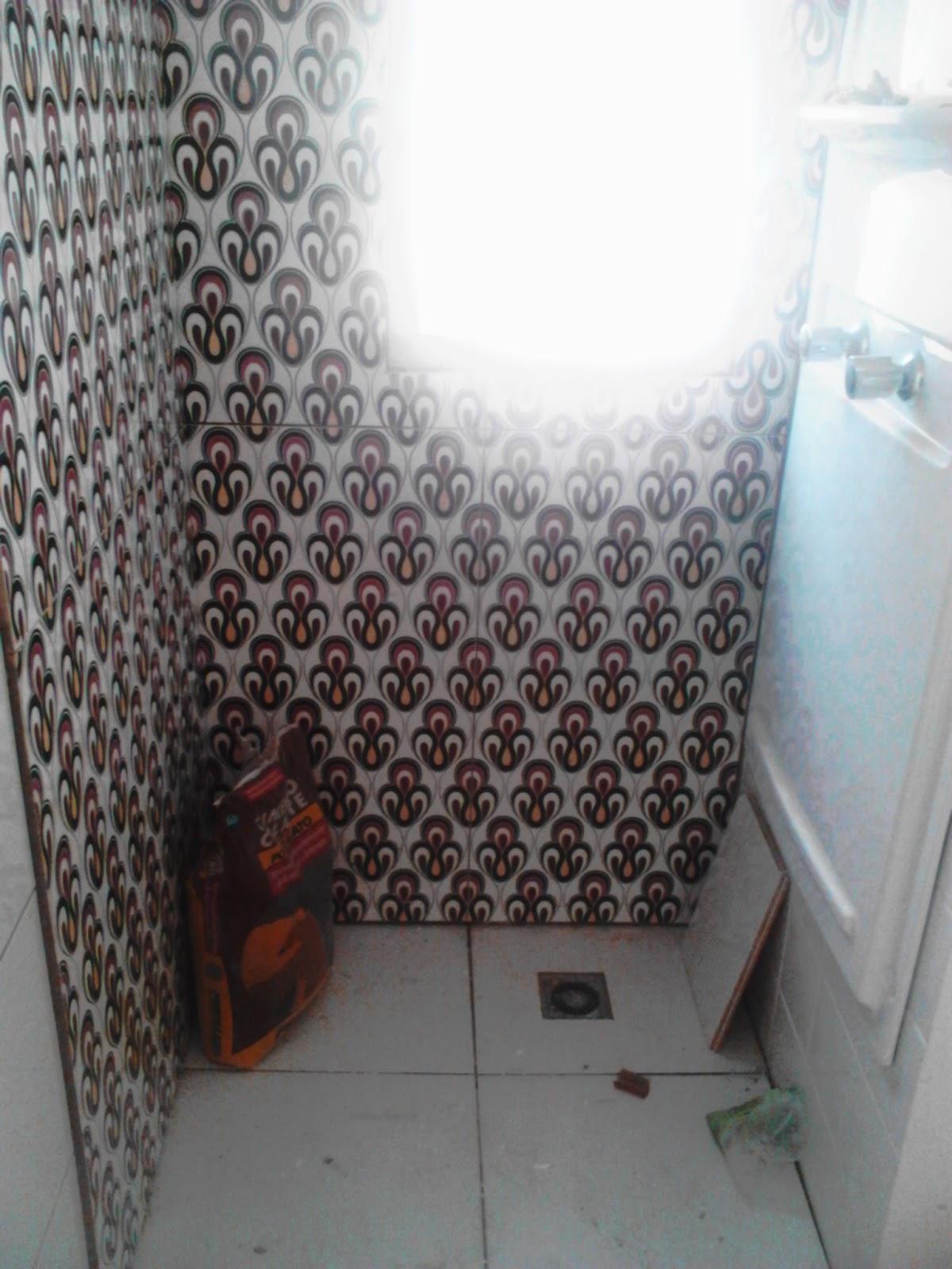 Esse é o banheiro da suíte preciso tirar novas fotos pois depois  #546D77 1200x1600 Balcao Banheiro Suite