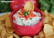 Green Chile and Corn Ranch Dip