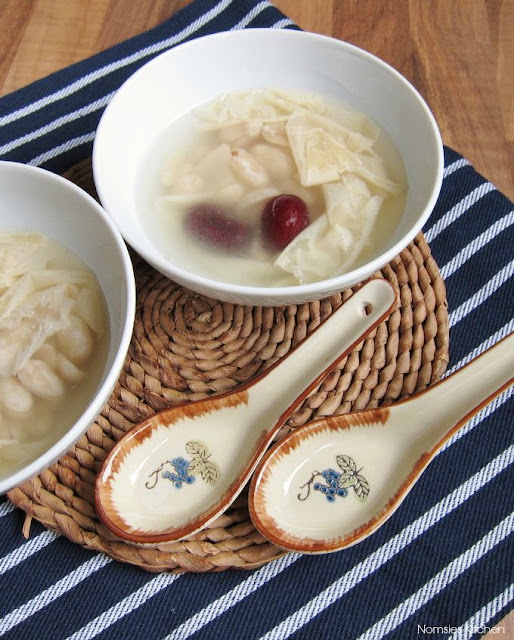 Chinese Peanut and Beancurd Sheets Soup Recipe from Nomsies Kitchen