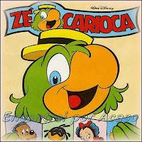 """O surgimento de """"Zé Carioca"""". O personagem brasileiro de Wal Disney"""