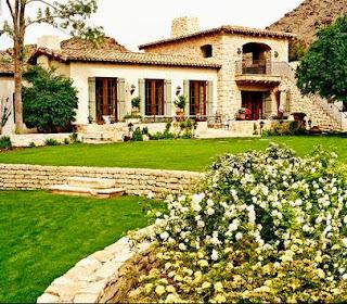 Fotos de terrazas terrazas y jardines decoracion de for Casas modernas rurales