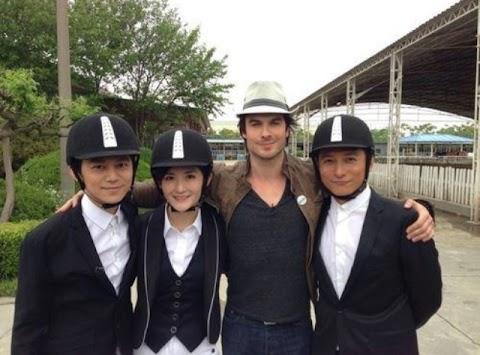 The Vampire Diaries: Nuevo set de fotos de Ian Somerhalder en China