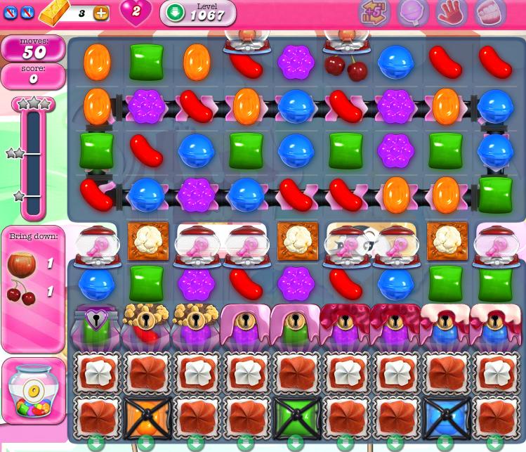 Candy Crush Saga 1067