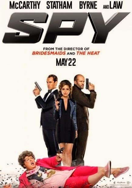 Melissa Mccarthy es una espía