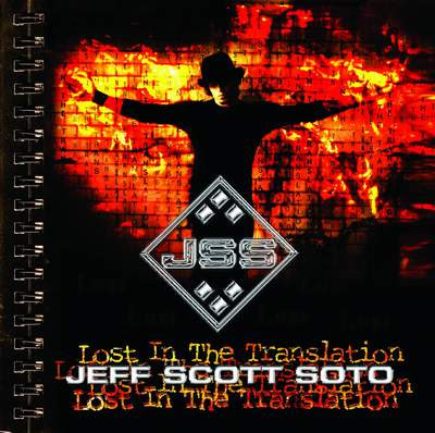 Portada Jeff Scott Soto-Lost In The Translation