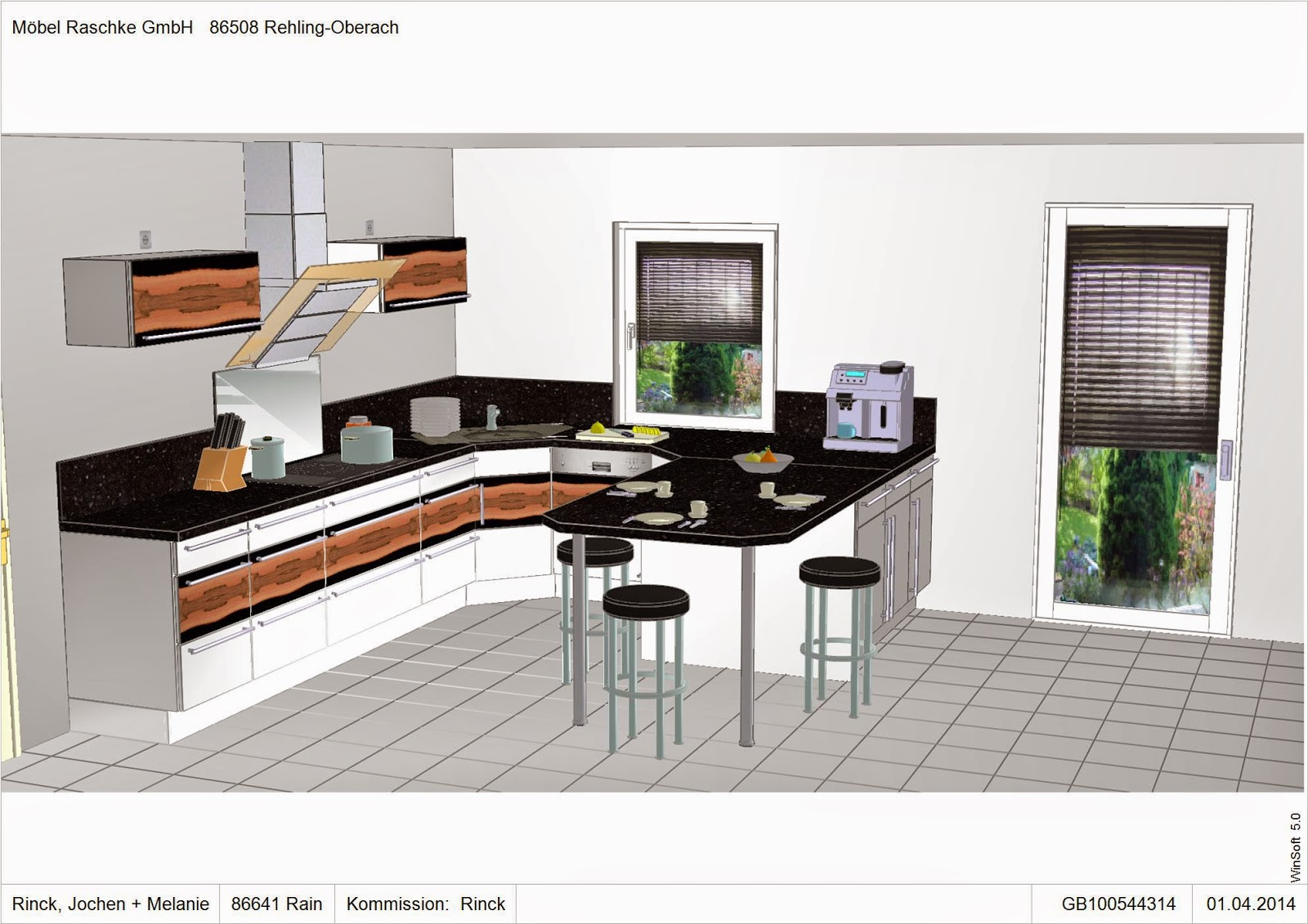 jome home bau 4ae finalisierung der k che. Black Bedroom Furniture Sets. Home Design Ideas