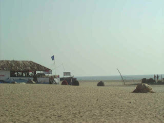 colva beach in south goa