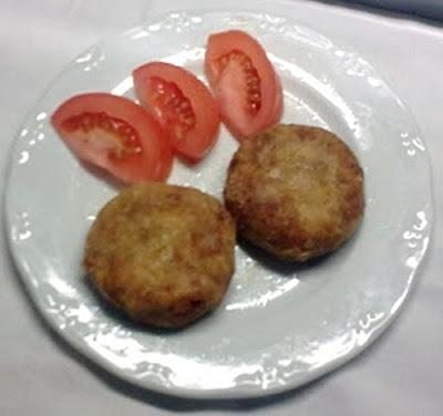 Hamburguesas de Tofu, Calabacin  y Pimiento