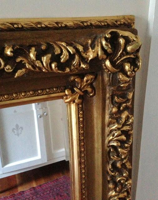 Beautiful Gilt ornate frames mirror for sale