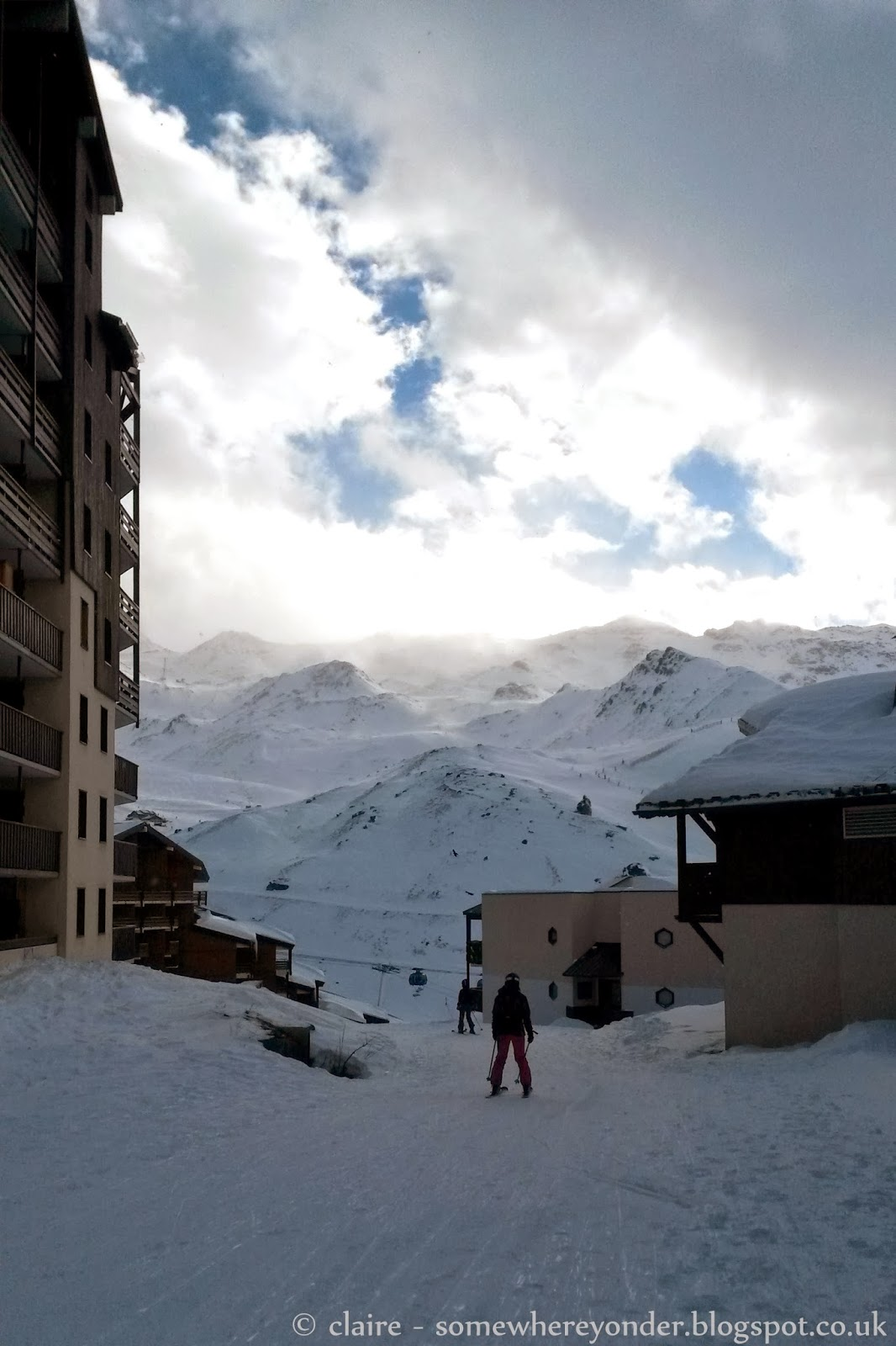 Ski in and out out accommodation - Val Thorens, France