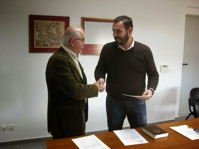 Και επίσημα δημοτικός σύμβουλος ο Κώστας Μπαρούτας (ΦΩΤΟ)