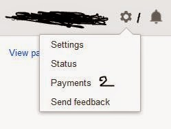 Setting payment method Google Adsense
