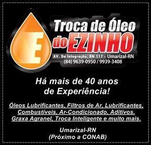 TROCA DE ÓLEO DO EZINHO