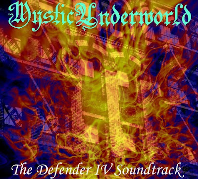 The Defender IV Soundtrack Front Cover