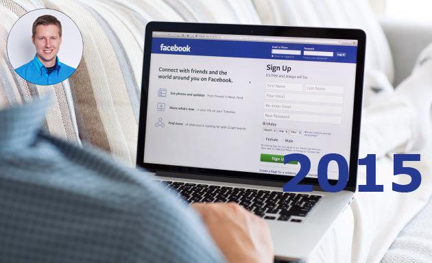 Facebook specialista v roce 2015