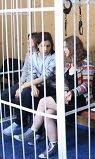 'Katya' Yekaterina Samutsevich, 'Nadia' Nadezhda Tolokonnikova, 'Masha' Maria Alyokhina.
