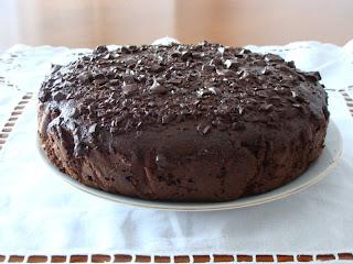 Brownie recién hecho