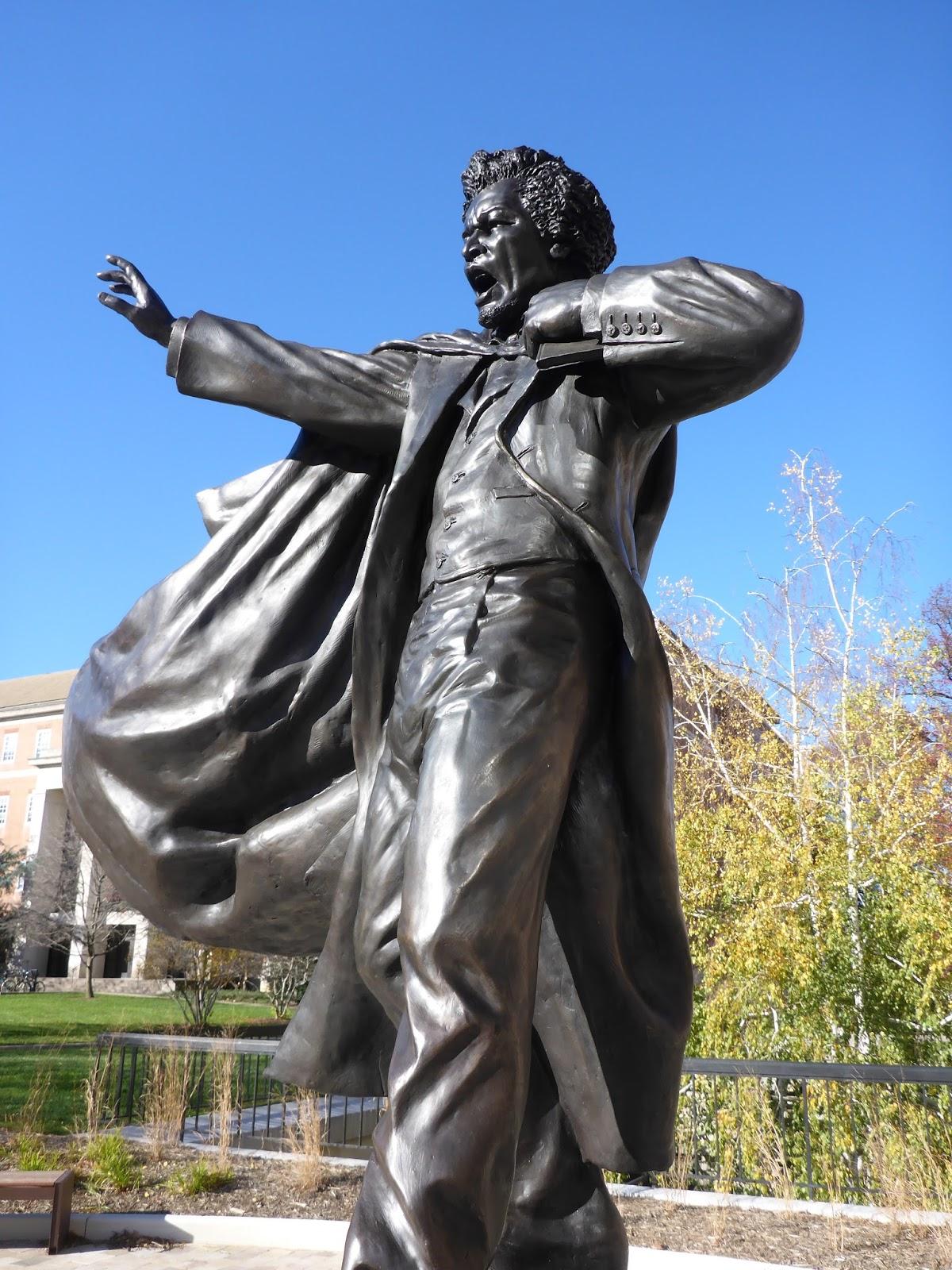 Frederick Douglass Statue Writings. DJone...