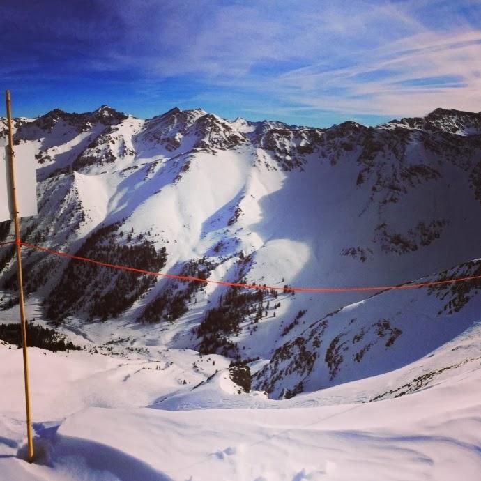 snowboarding solo