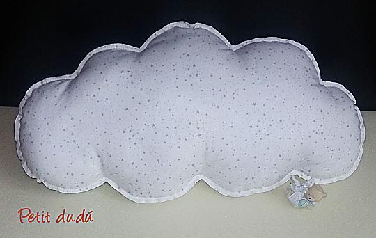Cojín nube Petitdudu