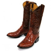Stylish Alligator Boots for Men