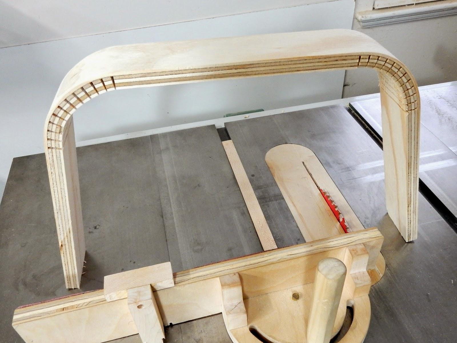 woodworking kerf cut