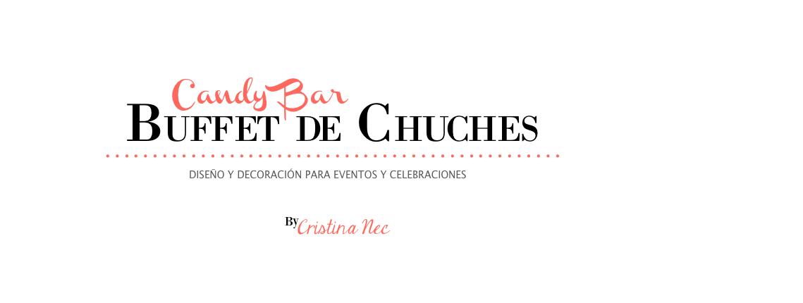 Candy Bar, buffet de chucherías, ideas originales para bodas, fiestas y cumpleaños