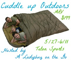 Enter to win the Teton Sports Mammoth Sleeping Bag, ARV $199, ends 6/11