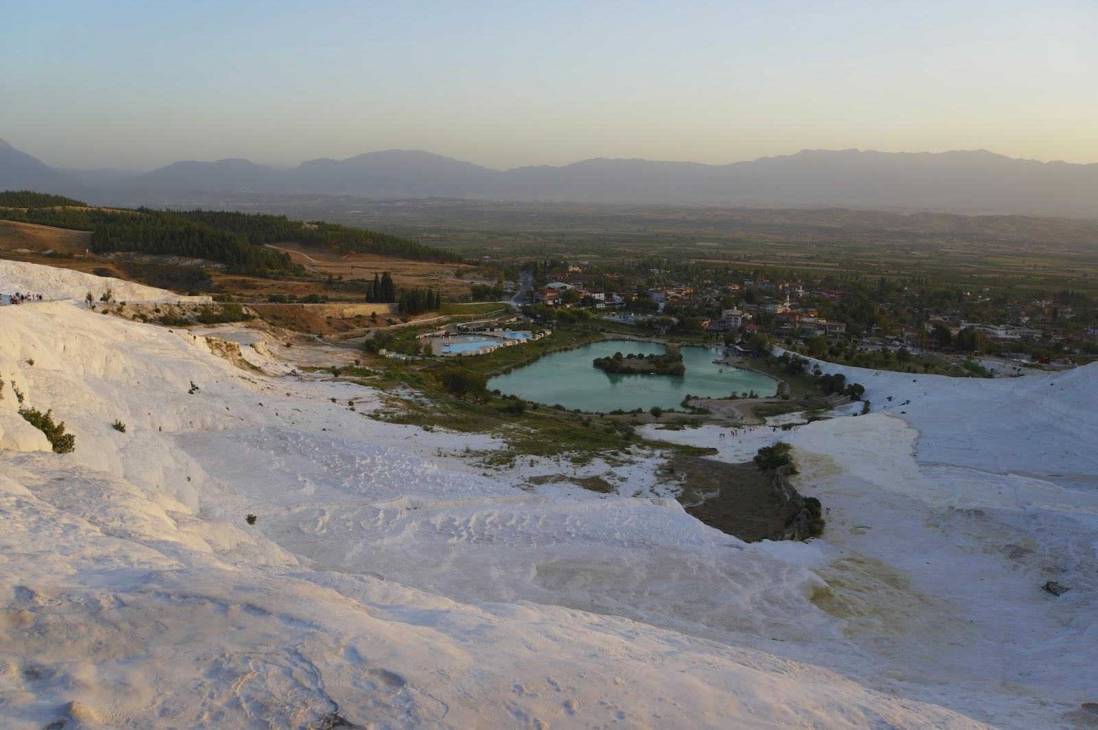Pamukkale turkey pools