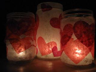 porta velas romanticos