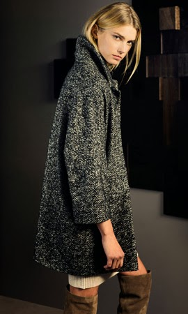 Massimo Dutti abrigo mujer invierno 2013 2014