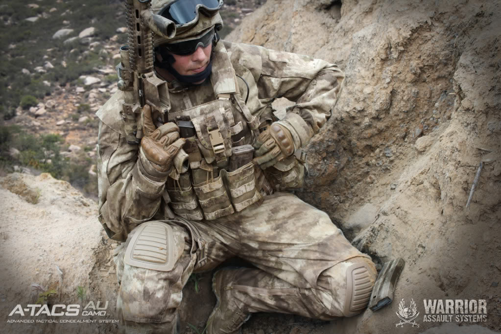 A-TACS camo en Afganistán WAS2