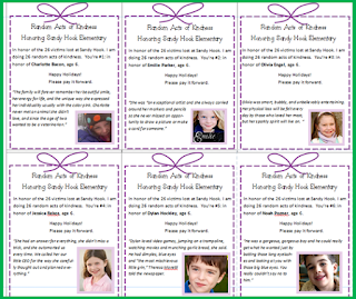 26 acts of kindness, sandy hook elementary, ann curry