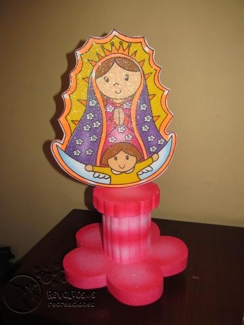 Decoracion Primera Comunion Virgen De Guadalupe ~ DECORACION VIRGEN DE GUADALUPE FIESTAS INFANTILES  Decoraci?n
