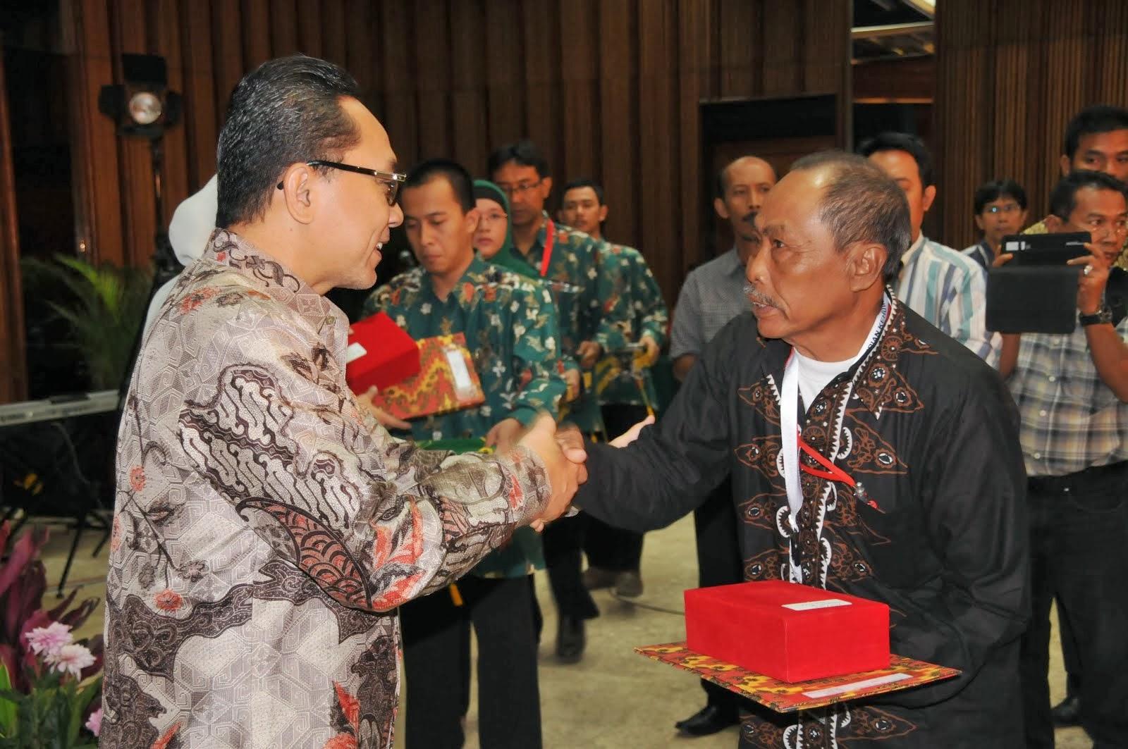 Bersama Menteri Kehutanan