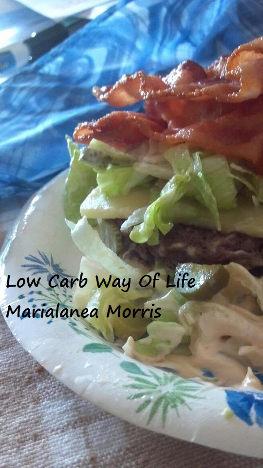 low carb way of life big mac attack with bacon and cheddar. Black Bedroom Furniture Sets. Home Design Ideas