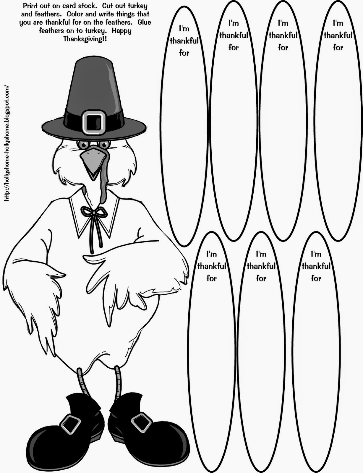 It's just an image of Resource Printable Turkey Pattern