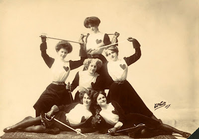 Scene from the Ziegfeld Follies of 1908