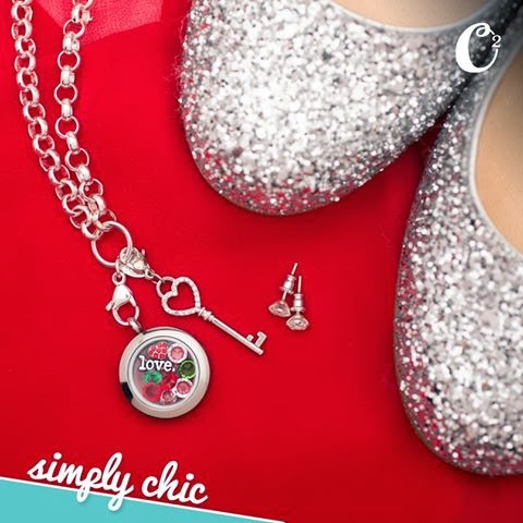 Be Simply Chic with Origami Owl Living Lockets from StoriedCharms.com