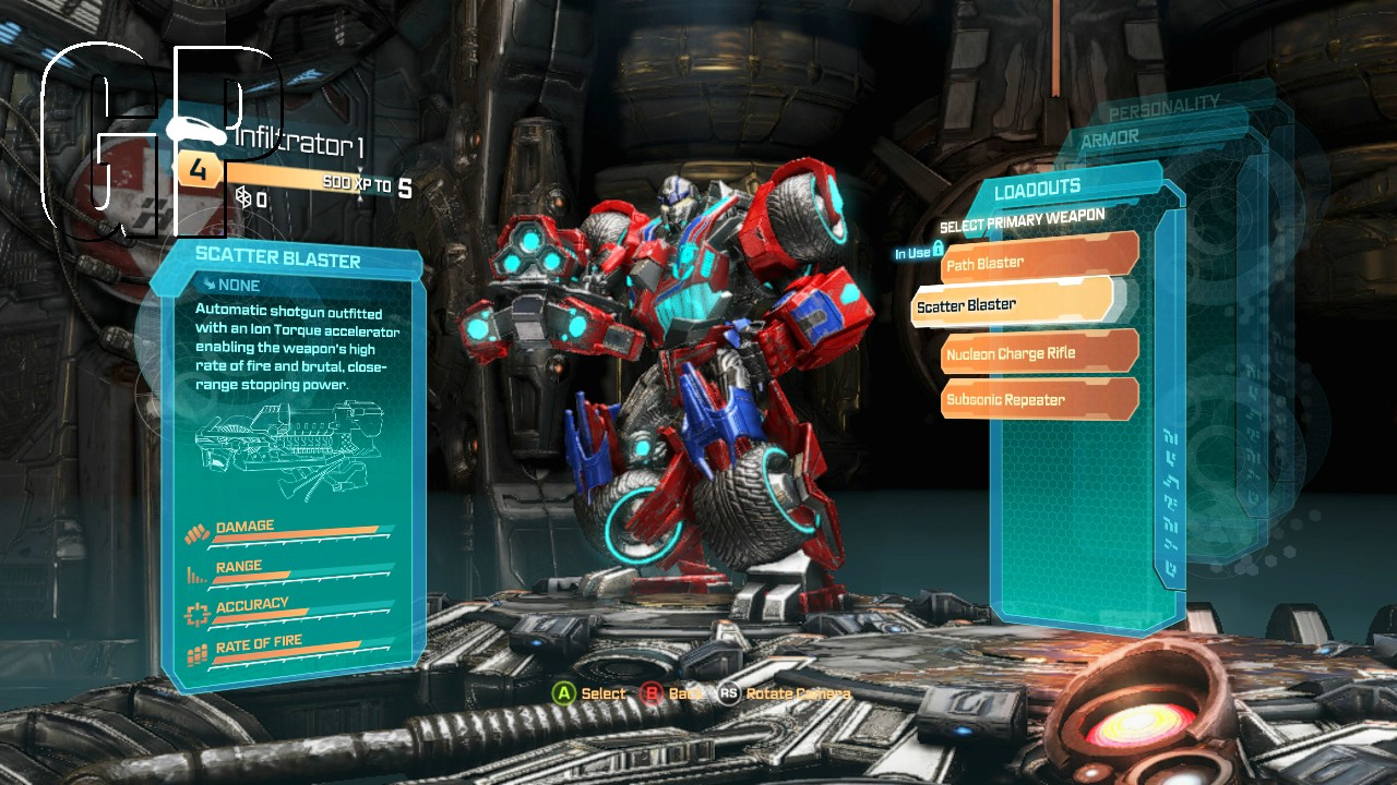 transformers fall of cybertron lots of screenshots chalgyr 39 s game room. Black Bedroom Furniture Sets. Home Design Ideas
