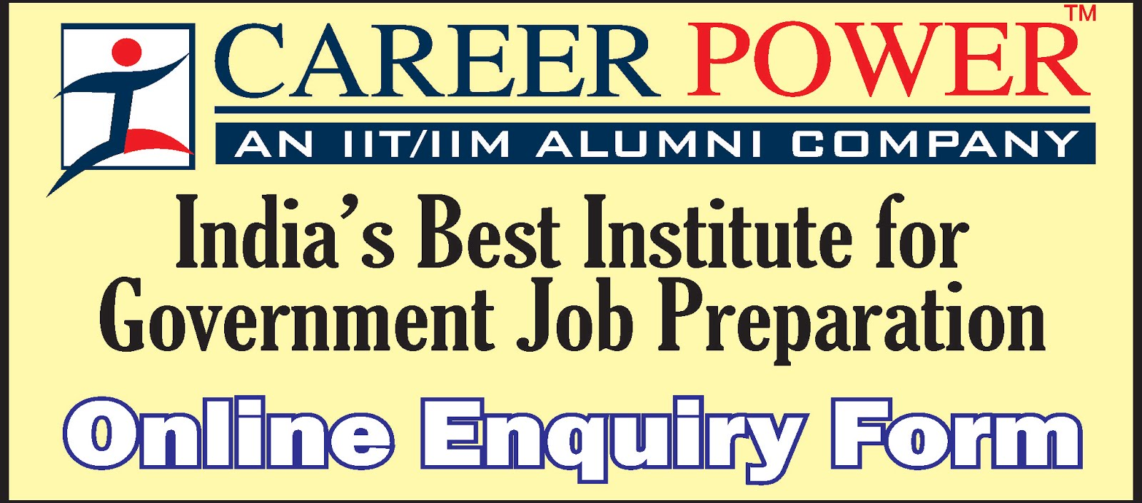 Career Power Online Enquiry Form