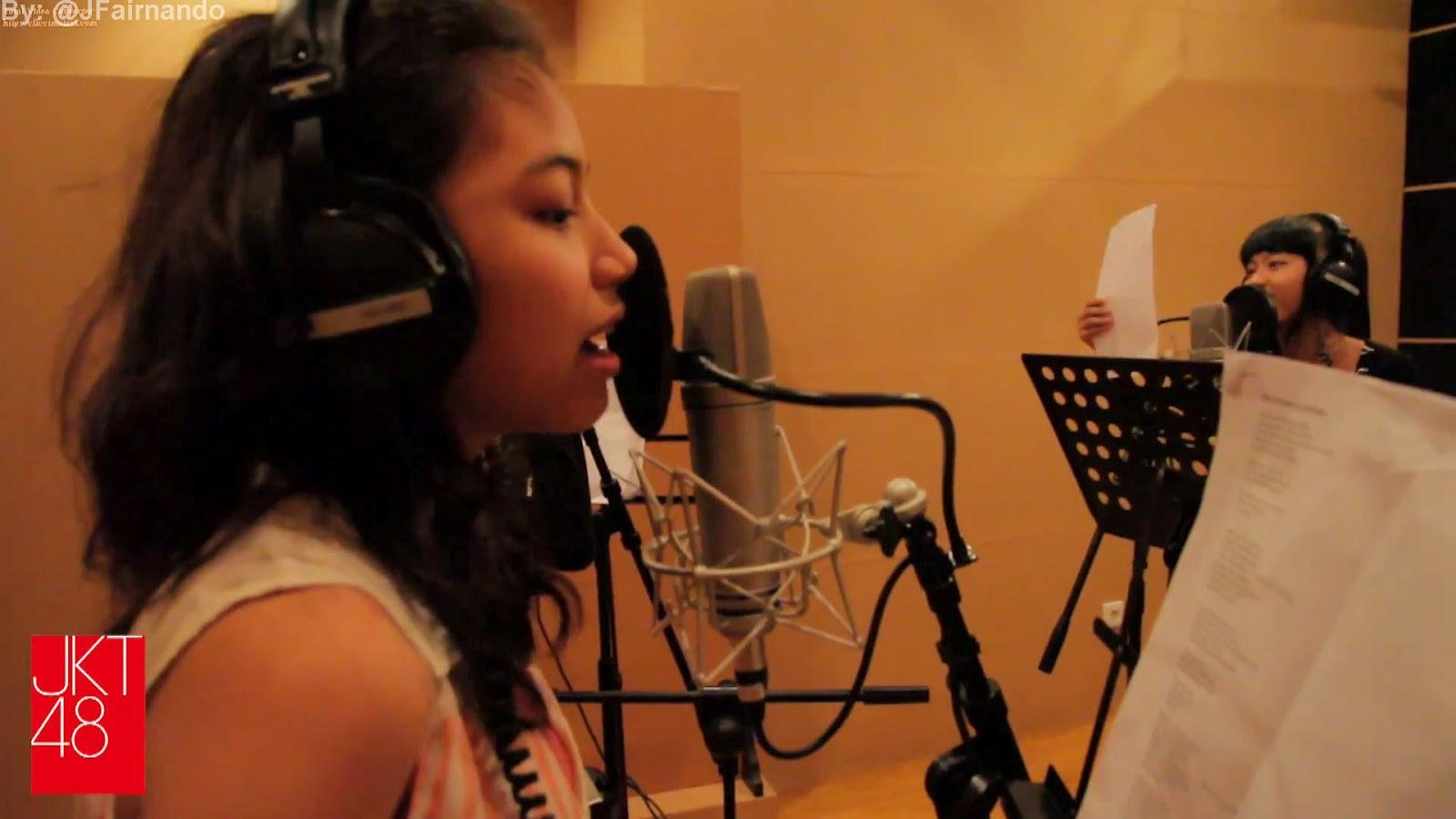 Recording sesion fahira