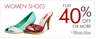 Women shoes FLat 40% off or more || Starting from Rs 299