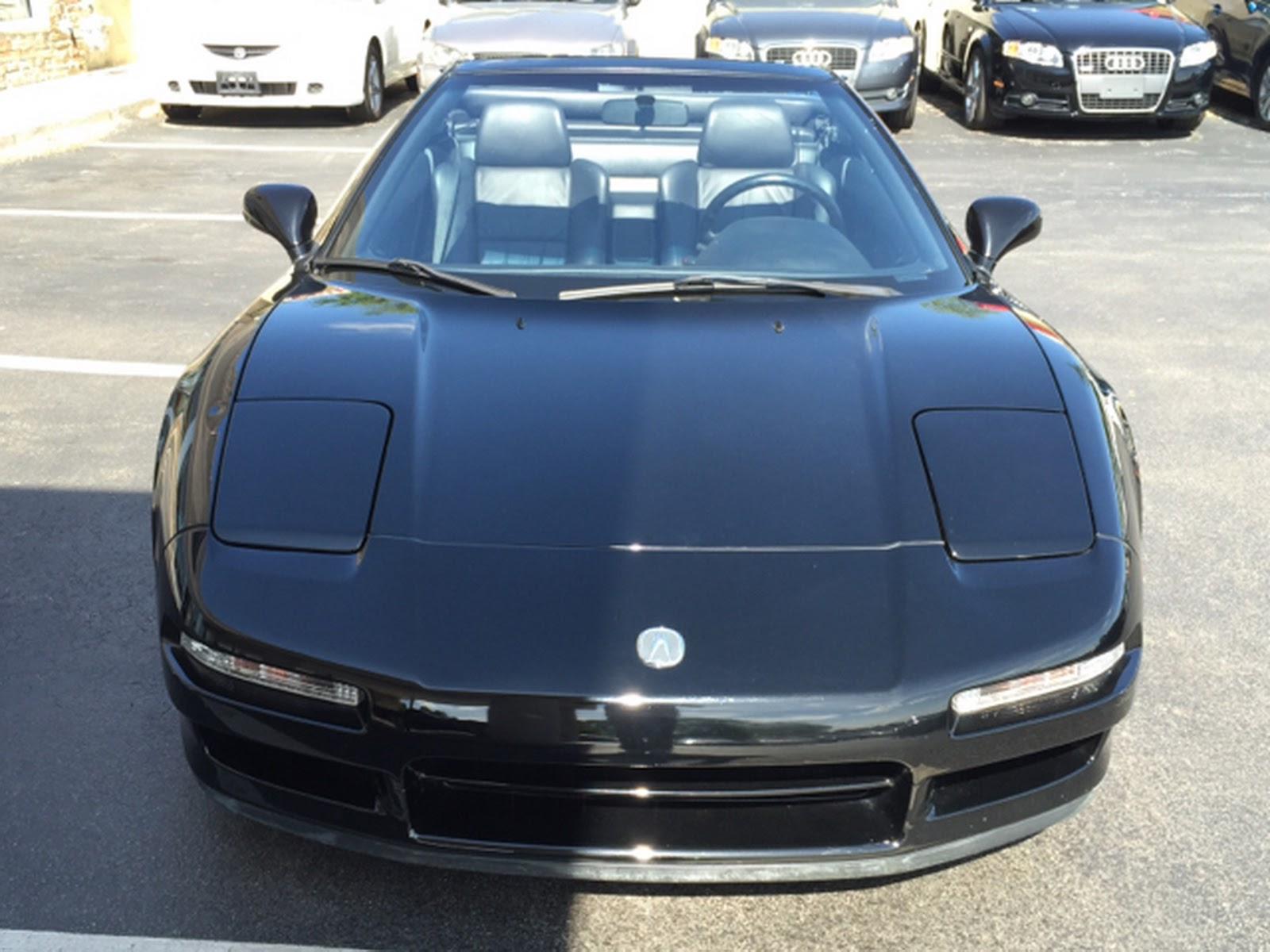Someone Chopped An Acura Nsx Into A Convertible And Is Now