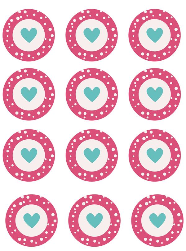 Manualidades: Imprimibles para cupcakes