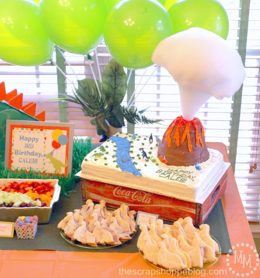Dinosaur Birthday Party - The Scrap Shoppe