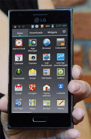 lg optimus l5 hands on