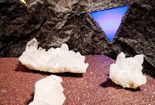 crystals, fabrics